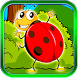 Ladybug Bubble Worms Smasher by MATCHING GAMES MEDIA - Free Puzzles for Family