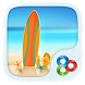 Seaside Go Launcher Theme by Freedom Design
