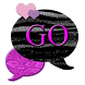 GO SMS THEME/PinkSnake4U by RDLCustoms