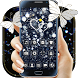 Black Glitter Diamond Butterfly Theme by Creative Design Theme