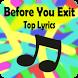 Before You Exit Lyrics by LazyMe Studio
