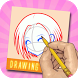 Learn To Drawing Cute Anime by PremApp