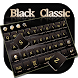 Black Classic Keyboard by Echo Keyboard Theme