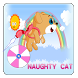 Naughty Cat Kittie by Douhamou