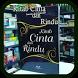 Kitab Cinta Dan Rindu by ImamStudio