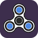 Fidget Spinner-Spiny Challenge by RBGA Canvas