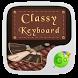 Classy GO Keyboard Theme by GOMO Dev Team