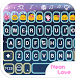Neon Love Emoji Keyboard Theme by Emoji Family