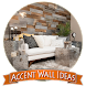 Accent Wall Ideas by dezapps