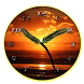 Sunset Analog Clock by Let's Go Apps Store