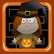Halloween Witch Pumpkin Maze by Rudie Ekkelenkamp