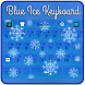 Blue Ice Keyboard by Luna Themes