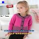Crochet Pattern Kid Cardigan by newerica