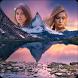 Mountains Dual Photo Frames