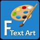 Fancy Text Art - Post Maker by FreeSmartApps