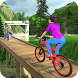 MTB Downhill BMX Bicycle Stunt Rider