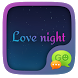 GO SMS LOVE NIGHT THEME by Freedom Design