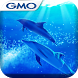 きせかえ壁紙☆Azure Dolphin by GMO Media, Inc.