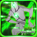 alien Ben Ultimate Transform Ghoztfreak force by Gameadventurex