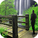 Waterfall Photo Frame by Leeway Infotech LLC