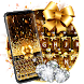 Gold Twinkle Exquisite Luxurious Keyboard Theme by COOL THEME