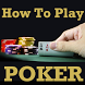 Learn How to Play POKER Cards Game Videos by Prabhu Manek 1980