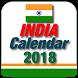 India Calendar 2018