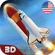 USA Air Force Rocket Flight 3D by Life Sim Games