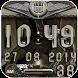 beige snake digital clock by Maystarwerk Clocks & Themes Vol.2
