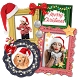 Christmas Photo Collage - Winter Picture Frames