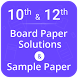 Board Exam Solutions, Sample Paper by Mukesh Kaushik