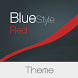 Blue Style - Red Theme by Michał Ambroziak