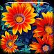 Flowers Bloom Live Wallpaper by Marik Widget