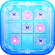 Tic Tac Toe Frozen Glow by Pink Tufts