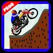 Jungle Motorcycle climb Hill by appsnayat