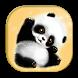 Cute Panda Keyboard Theme by live wallpaper collection