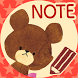 The Bears' School Sticky Note by peso.apps.pub.arts
