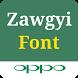 Zawgyi Oppo Font by Shweowl