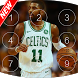 Keypad lock screen for Kyrie Irving by Alex devlopper