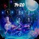 Mermaid Keypad Lock Screen by davo-davo33
