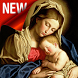 Holly Mother Mary Wallpaper by gleeneathan dev