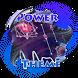 Star cluster Poweramp Skin by Music Player Skins