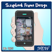 Scrapbook Frame Design by aghadigital