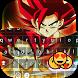 Super Saiyan Emoji Keyboard by Golden Themes Studio