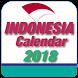 Indonesia Calendar 2018 by CalendarCraft