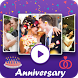 Anniversary Video Movie Maker by Photo To HD Video Convertor