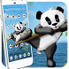 Cute Panda Mobile Theme by Luxury Mobile Themes