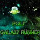 Poly Galaxy Runner by Zafires