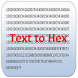 Text to Hex by Programator