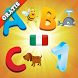Italian Alphabet for Toddlers by romeLab